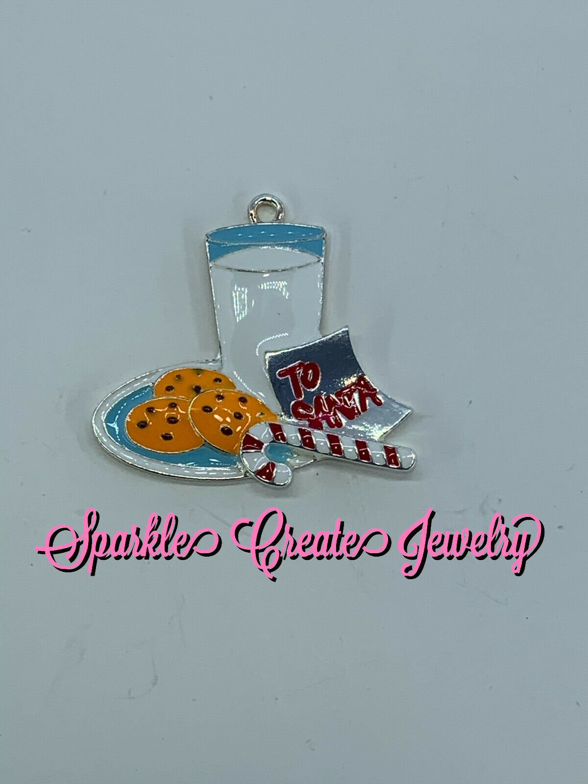 Cookies for Santa Christmas Pendant