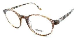 Starck Eyes Mikli Rx Eyeglasses Frames SH3035 0022 48-19-140 Striped Brown Italy - $105.06