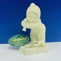 Snowbabies department 56 figurine angel snow babies Batter Up Starlight ... - $17.71