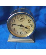 Vintage Deco Westclox Ben Hur Wind Up Alarm Clock  - $65.00