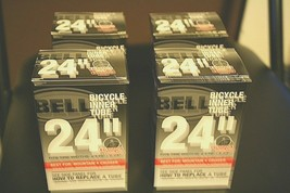 """BELL 24""""  BICYCLE INNER TUBE Standard x1.75-2.25""""(4 packs) Free shipping - $22.76"""