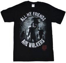 The Walking Dead All My Friends Are Walkers Adult T-shirt M - $19.79