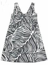 Jams World Womens sz S Zeleef Dress Black White Beach Cruise Resort Cover Mumu - $49.99