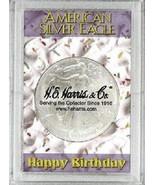 ASE Frosty Case - Happy Birthday, 2x3 Snap Lock Coin Storage 3pk - £5.05 GBP