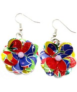 Flower earrings thumbtall