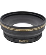 72mm Digital Wide Angle Lens For Photo & Video Camera Sony Panasonic Can... - $44.99