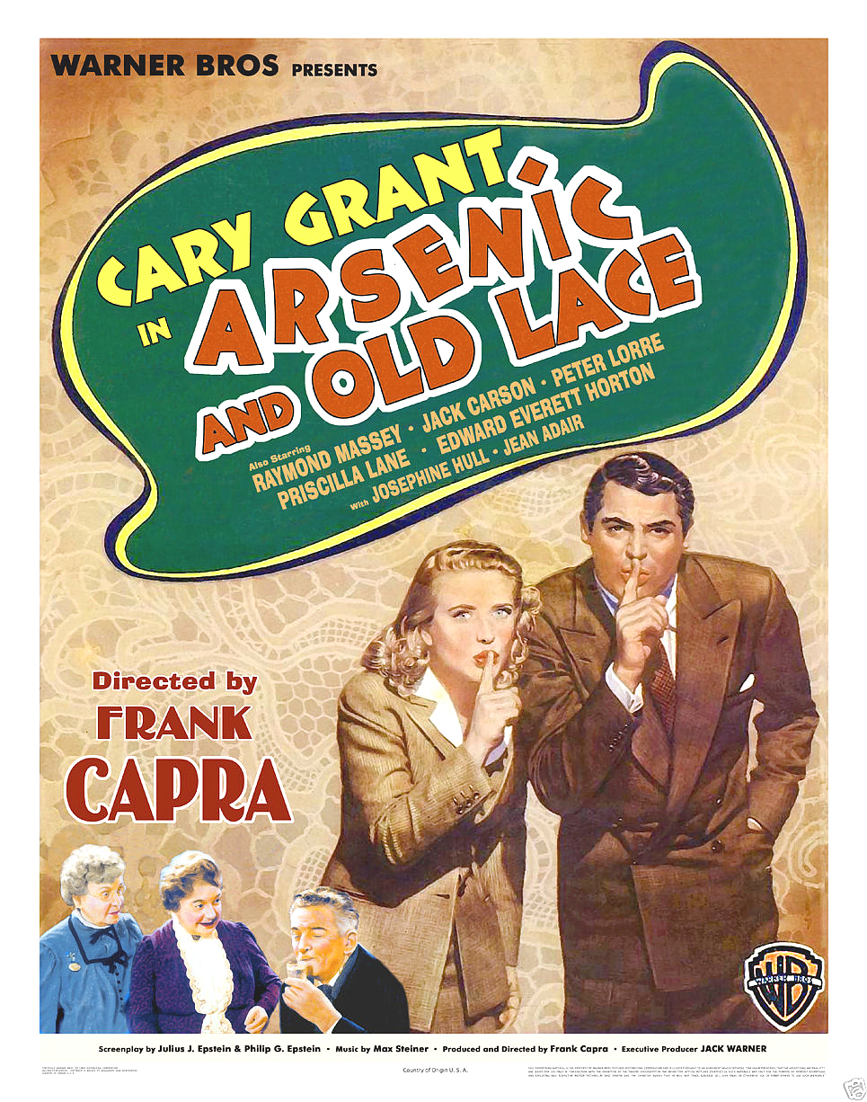 Arsenic and old lace poster shh