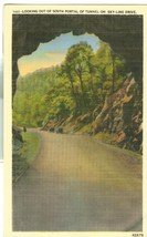 Looking out of South Portal of Tunnel on Sky-Line Drive, Virginia, unuse... - $4.99