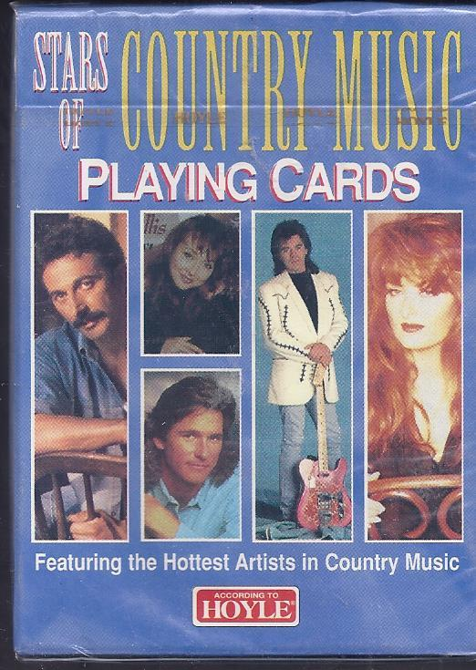1996 STARS OF COUNTRY MUSIC HOYLE Playing Cards,  New - $4.95