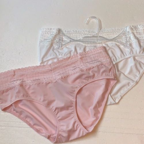 ee5fe6701f89 Warner's No Muffin Top Hipsters with Lace L/7 and 50 similar items. Image