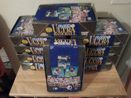 1991 Fleer Ultra MLB Baseball 36 Pack Wax Box Ultra Team Inserts Bagwell  - $12.99