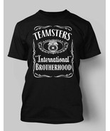 Teamsters Jimmy Hoffa tshirt Spoof Black All Sizes!  Shirt  - $19.59