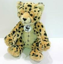 Build A Bear Spotted Leopard WWF Plush World Wildlife Fund Stuffed Anima... - $23.39