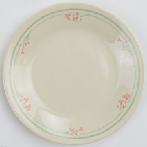 Corning Corelle China Summer Blossoms Bread Plate Pastel Green Pink Flor... - $6.99