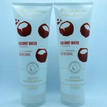 2 Bath & Body Works Coconut Water Refreshing Moisturizing Body Wash 10 f... - $23.70