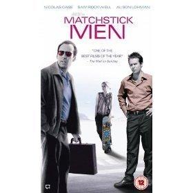 Matchstick men vhs