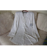 ATHLETA WHITE SHEAR FLOWING TOP SIZE L - $99.00