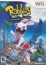 Rabbids Go Home (Nintendo Wii, 2009) Video Game Complete - $14.91