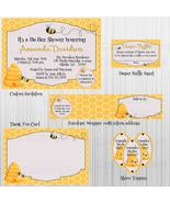 Bumble Bee Baby Shower Printable Party Package: Invitation, Bingo, Diape... - $20.00