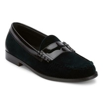 Mens Weejuns G.H. Bass Leather, Velvet shoes Penny Loafer 70-60427 Larson Green - $125.00