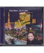 RYAN AHERN NO CITY LIMITS Authographed  CD, New - $19.95
