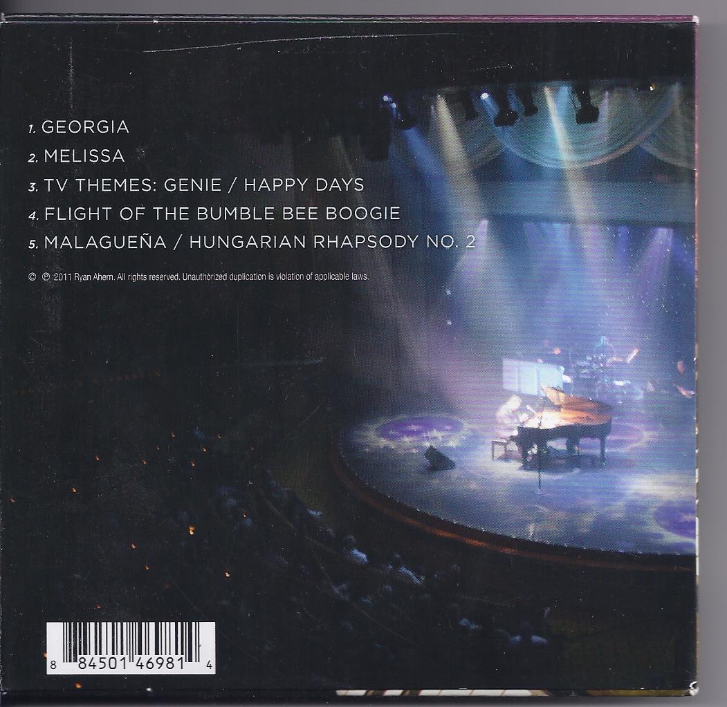 RYAN AHERN Bonus Show Album  CD, New