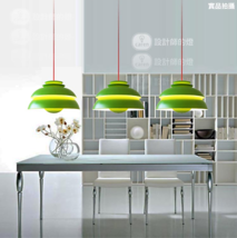 PH Suspension Lamp Green Pendant E27 Light home Hanging Ceiling Lighting... - $82.07