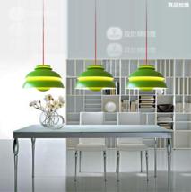 PH Suspension Lamp Green Pendant E27 Light home Hanging Ceiling Lighting... - $82.07
