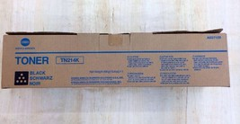 Genuine Konica Minolta TN214k Black Toner, Same Day Shipping - $79.19