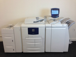 Xerox 4127 Copier Printer Scanner with Light production finisher and LCT... - $4,207.50