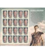 CHARLTON HESTON Legends of Hollywood  S/SHEET - USA MINT FOREVER Stamps - $18.34 CAD