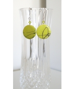 Iridescent Lime Green Mother of Pearl Earrings - $8.50