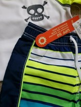 NEW Old Navy Boys SIZE 18-24 months Swim Trunks and swim shirt 2t Nwt - $10.40