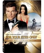 007 For Your Eyes OnlyTwo Disc Ultimate Edition DVD Widescreen New - $7.99