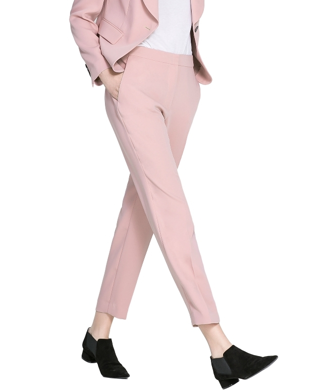 7083c346 NWOT Zara Cropped Tapared Trouser Pants in and 20 similar items