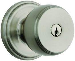 Ganyon Keyed Style, Satin Nickel, Doorlock - $35.69