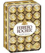 Ferrero Rocher - Fine Hazelnut Chocolates Gift Box - 48 Count, 21.2oz - $29.65