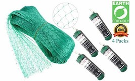 ALAZCO 4 Packs Garden Plant Netting Protect Protect Plants and Fruit Tre... - $15.15