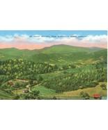 Mount Mitchell from Burnsville, North Carolina, 1920s unused Postcard  - $4.99