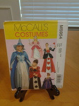 McCall's 5954 Girls Story Book Costumes Childs sz 3 - 8,Uncut New  - $6.50