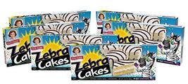 Little Debbie Zebra Cakes, 6 Boxes, 30 Twin-Wrapped Yellow Cakes - $24.78