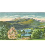 Mt. Chocorua and Lake, White Mountains, New Hampshire, 1953 used linen P... - $5.99