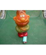 Vintage USSR Soviet Russian Rubber Toy Shrek Mudila Zelionyj Czelovek Ab... - $14.84