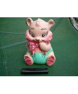 Vintage USSR Soviet Russian Rubber Toy Cat Kitty About 1976 - $15.83