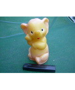 Vintage USSR Soviet Russian Rubber Toy Elephant About 1970 - $12.86