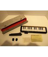 Vintage Hohner Melodica Piano Silvertone w Case... - $127.35