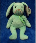 Ty Beanie Baby Hippity the Green Bunny Rabbit 4th Generation Hang Tag 3r... - $17.81