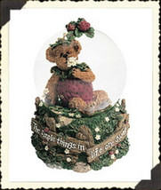 "*BoydsBearstone ""Jellie B. Bearypickins"" Musical/Waterglobe - #270564-1E... - $39.99"