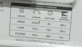 LPE Optic Luxpro LP 345 Extended 6 Hour Runtime LED Headlamp image 4