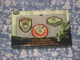Disney Store Pete's Dragon Pin Set Limited Edition of 550. Brand New. Ra... - $65.78
